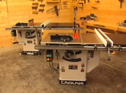 Laguna Tools Tablesaw - Platinum Series