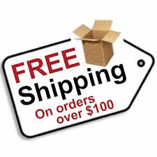 free shipping 100