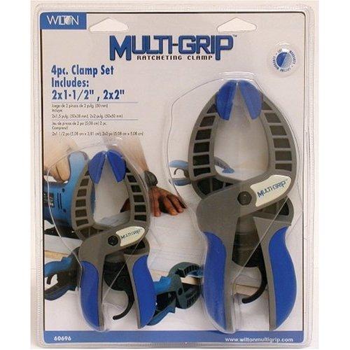 Wilton 4pc Multigrip Clamp Set
