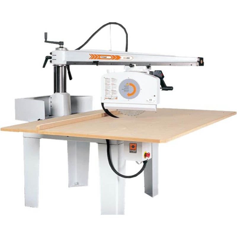 Maggi big 800ce radial arm saw gregory machinery for Radial arm saw